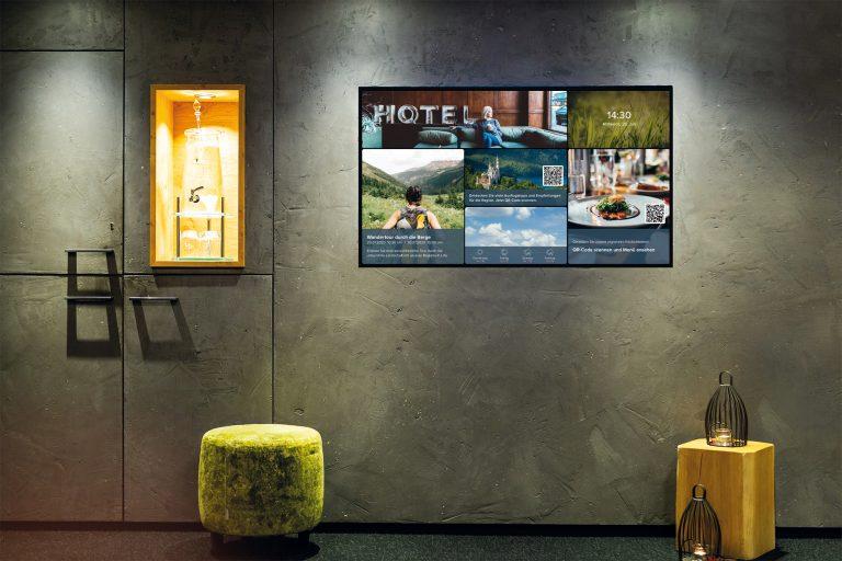 Infokanal von Gastfreund im Hotel