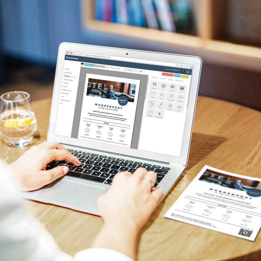 Hotelzeitung als Klinikzeitung