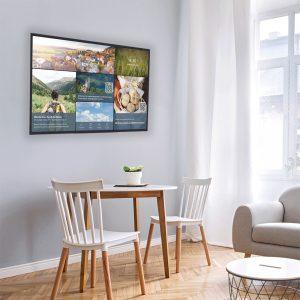 Digital Signage: Der Infokanal als Hotel-TV im Zimmer einer Unterkunft