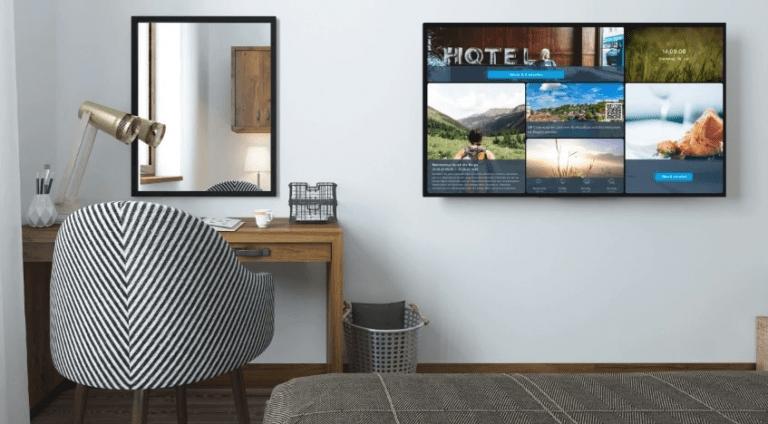 Infokanal von Gastfreund im Hotelzimmer