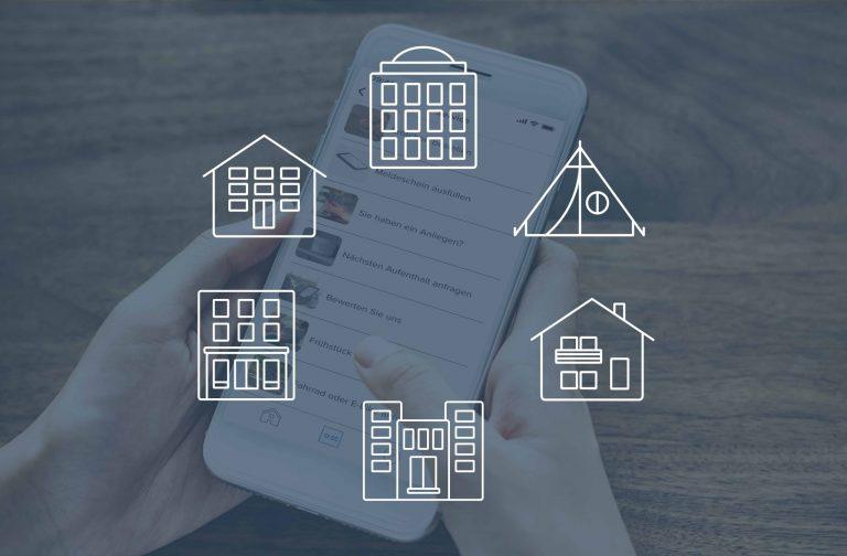 Digitalisierung in der Hotellerie: Digitale Services für jede Unterkunftsart
